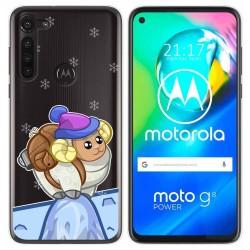 Funda Gel Transparente para Motorola Moto G8 Power diseño Cabra Dibujos