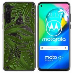 Funda Gel Transparente para Motorola Moto G8 Power diseño Jungla Dibujos