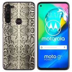 Funda Gel Tpu para Motorola Moto G8 Power diseño Animal 01 Dibujos