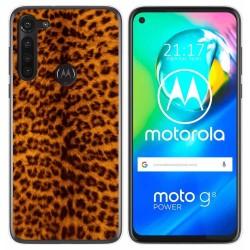 Funda Gel Tpu para Motorola Moto G8 Power diseño Animal 03 Dibujos