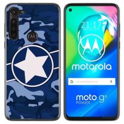 Funda Gel Tpu para Motorola Moto G8 Power diseño Camuflaje 03 Dibujos