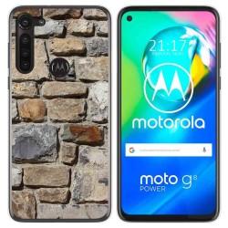 Funda Gel Tpu para Motorola Moto G8 Power diseño Ladrillo 03 Dibujos