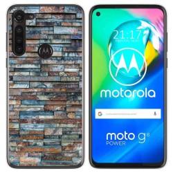 Funda Gel Tpu para Motorola Moto G8 Power diseño Ladrillo 05 Dibujos
