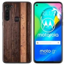Funda Gel Tpu para Motorola Moto G8 Power diseño Madera 05 Dibujos
