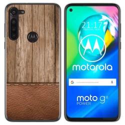 Funda Gel Tpu para Motorola Moto G8 Power diseño Madera 09 Dibujos