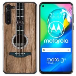 Funda Gel Tpu para Motorola Moto G8 Power diseño Madera 11 Dibujos