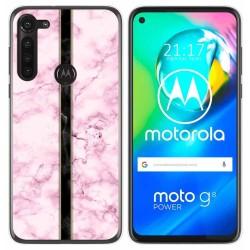 Funda Gel Tpu para Motorola Moto G8 Power diseño Mármol 04 Dibujos