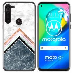 Funda Gel Tpu para Motorola Moto G8 Power diseño Mármol 05 Dibujos
