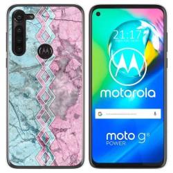 Funda Gel Tpu para Motorola Moto G8 Power diseño Mármol 08 Dibujos