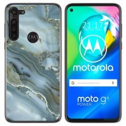 Funda Gel Tpu para Motorola Moto G8 Power diseño Mármol 09 Dibujos