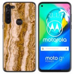 Funda Gel Tpu para Motorola Moto G8 Power diseño Mármol 10 Dibujos