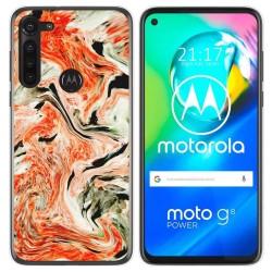 Funda Gel Tpu para Motorola Moto G8 Power diseño Mármol 12 Dibujos