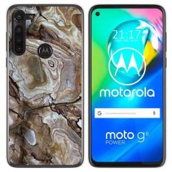 Funda Gel Tpu para Motorola Moto G8 Power diseño Mármol 14 Dibujos