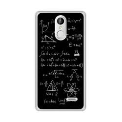 Funda Gel Tpu para Leagoo M5 Plus Diseño Formulas Dibujos