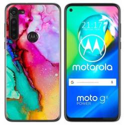 Funda Gel Tpu para Motorola Moto G8 Power diseño Mármol 15 Dibujos