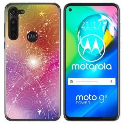 Funda Gel Tpu para Motorola Moto G8 Power diseño Abstracto Dibujos