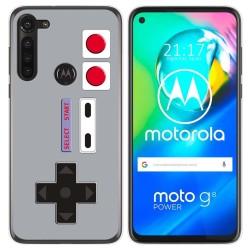 Funda Gel Tpu para Motorola Moto G8 Power diseño Consola Dibujos