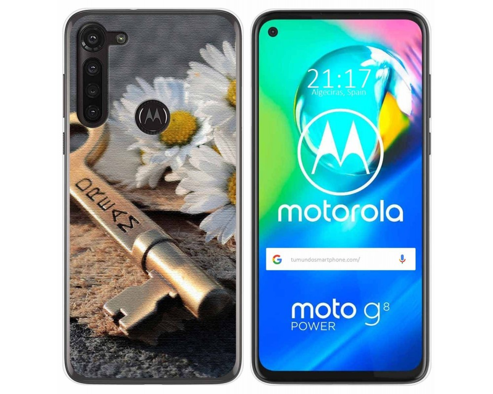 Funda Gel Tpu para Motorola Moto G8 Power diseño Dream Dibujos