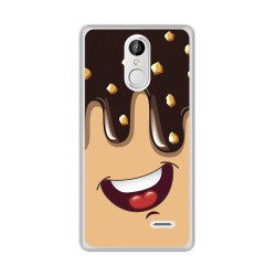 Funda Gel Tpu para Leagoo M5 Plus Diseño Helado Chocolate Dibujos