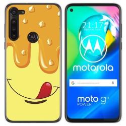 Funda Gel Tpu para Motorola Moto G8 Power diseño Helado Vainilla Dibujos
