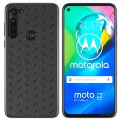 Funda Gel Tpu para Motorola Moto G8 Power diseño Metal Dibujos