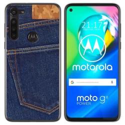 Funda Gel Tpu para Motorola Moto G8 Power diseño Vaquero Dibujos