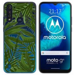 Funda Gel Transparente para Motorola Moto G8 Power Lite diseño Jungla Dibujos