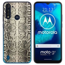 Funda Gel Tpu para Motorola Moto G8 Power Lite diseño Animal 01 Dibujos