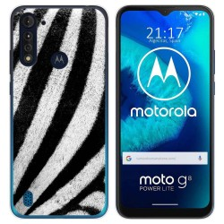 Funda Gel Tpu para Motorola Moto G8 Power Lite diseño Animal 02 Dibujos