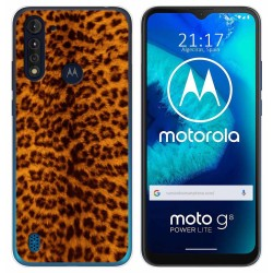 Funda Gel Tpu para Motorola Moto G8 Power Lite diseño Animal 03 Dibujos