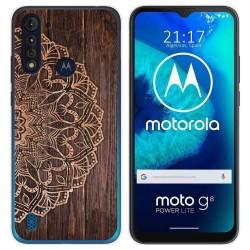 Funda Gel Tpu para Motorola Moto G8 Power Lite diseño Madera 06 Dibujos