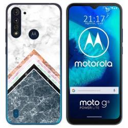 Funda Gel Tpu para Motorola Moto G8 Power Lite diseño Mármol 05 Dibujos