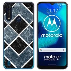 Funda Gel Tpu para Motorola Moto G8 Power Lite diseño Mármol 06 Dibujos