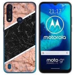 Funda Gel Tpu para Motorola Moto G8 Power Lite diseño Mármol 07 Dibujos