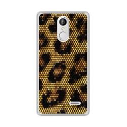 Funda Gel Tpu para Leagoo M5 Plus Diseño Leopardo Dibujos