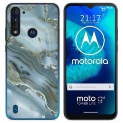 Funda Gel Tpu para Motorola Moto G8 Power Lite diseño Mármol 09 Dibujos