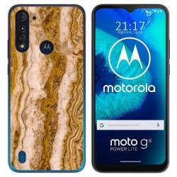 Funda Gel Tpu para Motorola Moto G8 Power Lite diseño Mármol 10 Dibujos