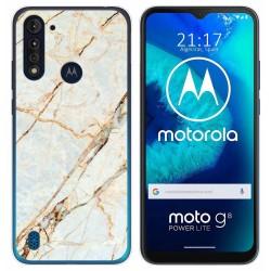 Funda Gel Tpu para Motorola Moto G8 Power Lite diseño Mármol 13 Dibujos