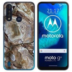 Funda Gel Tpu para Motorola Moto G8 Power Lite diseño Mármol 14 Dibujos