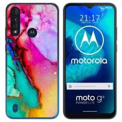 Funda Gel Tpu para Motorola Moto G8 Power Lite diseño Mármol 15 Dibujos