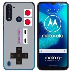 Funda Gel Tpu para Motorola Moto G8 Power Lite diseño Consola Dibujos