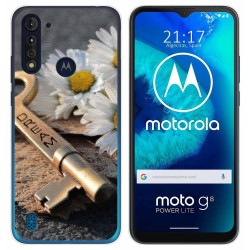 Funda Gel Tpu para Motorola Moto G8 Power Lite diseño Dream Dibujos