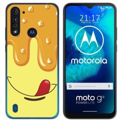 Funda Gel Tpu para Motorola Moto G8 Power Lite diseño Helado Vainilla Dibujos