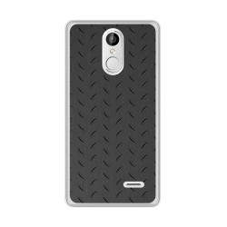Funda Gel Tpu para Leagoo M5 Plus Diseño Metal Dibujos