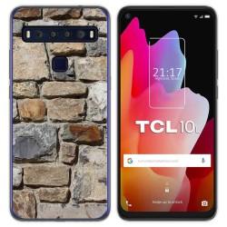 Funda Gel Tpu para TCL 10L diseño Ladrillo 03 Dibujos