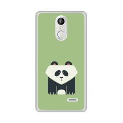 Funda Gel Tpu para Leagoo M5 Plus Diseño Panda Dibujos