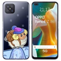 Funda Gel Transparente para Oppo Reno 4Z 5G diseño Cabra Dibujos