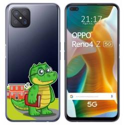 Funda Gel Transparente para Oppo Reno 4Z 5G diseño Coco Dibujos