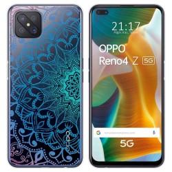 Funda Gel Transparente para Oppo Reno 4Z 5G diseño Mandala Dibujos