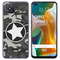 Funda Gel Tpu para Oppo Reno 4Z 5G diseño Camuflaje 02 Dibujos